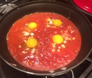 Eggs in Salsa
