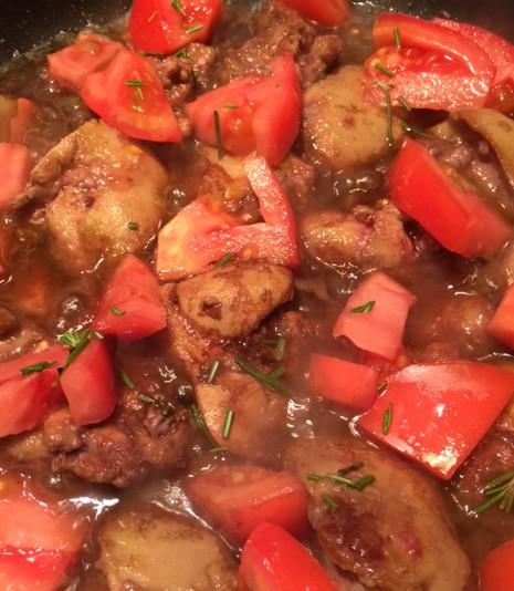 Chicken liver sauce